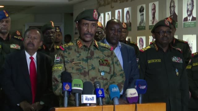 vídeos de stock, filmes e b-roll de sudan says that two soldiers were killed as government forces crushed a rebellion launched by several agents of the country's long feared security... - sudão