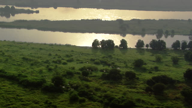 sudan : the nil during a sunset - river nile stock videos & royalty-free footage