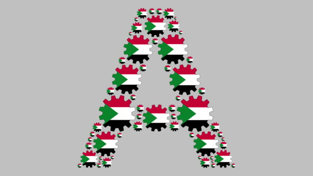 sudanese letter a - western script stock videos & royalty-free footage