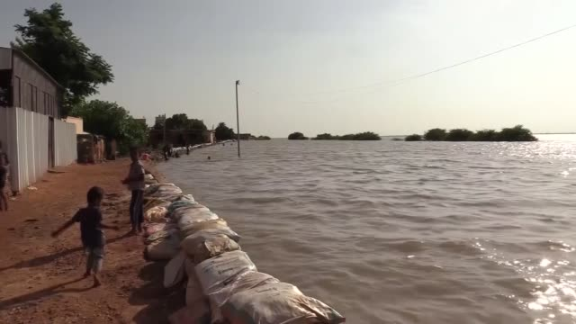sudanese victims of the flood that hit eastern khartoum are struggling to live and overcome the damage to their houses. the interior ministry said on... - river stock videos & royalty-free footage