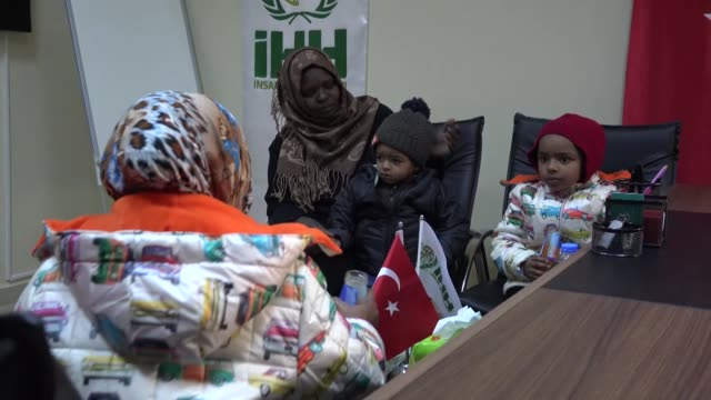 sudanese woman stranded in syria for the last eight years has finally made it home with her children with the help of turkey's government a turkish... - family with four children stock videos & royalty-free footage