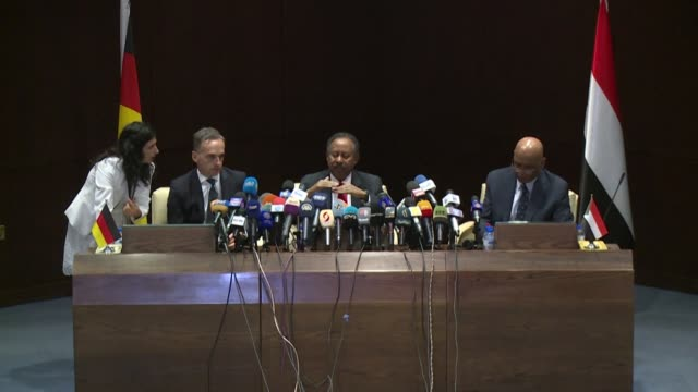 sudan's new premier abdalla hamdok calls for the united states to drop his country from its state sponsors of terrorism list insisting it was crucial... - revival stock videos & royalty-free footage