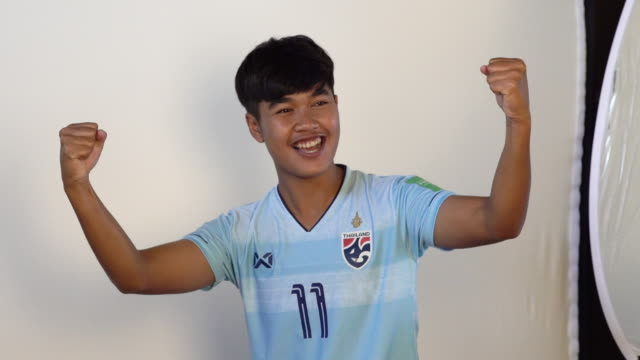 Sudarat Chuchuen at FIFA Women's World Cup France 2019 Team Portrait Session on June 08 2019 in Reims