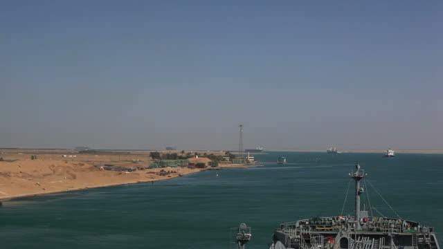 suez channel - canal do suez stock videos & royalty-free footage