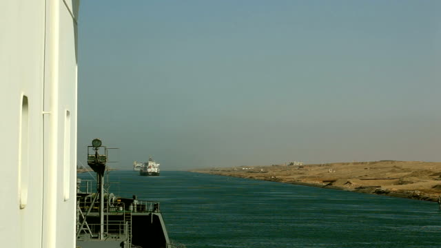 suez traffic - canal do suez stock videos & royalty-free footage