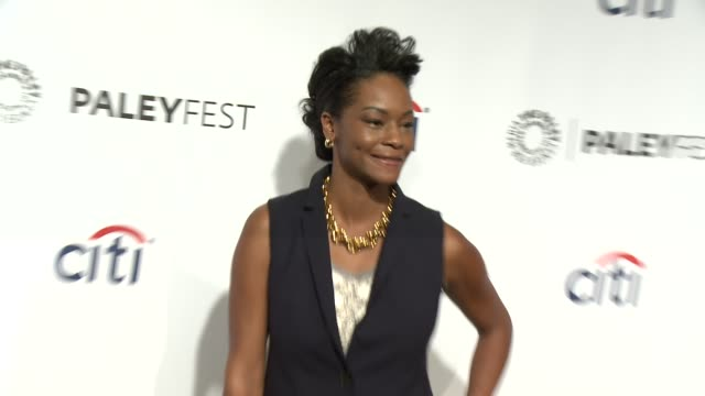 """sufe bradshaw at the """"veep"""" panel - paleyfest 2014 at dolby theatre on march 27, 2014 in hollywood, california. - the dolby theatre stock videos & royalty-free footage"""