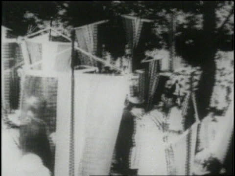 suffragettes wave flags during a demonstration - voting rights stock videos & royalty-free footage