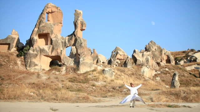 sufi dervish - sufism stock videos & royalty-free footage