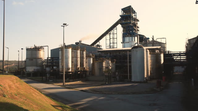 sugar cane, ethanol plant, biofuel facilities, alagoas, brazil - sugar cane stock videos and b-roll footage