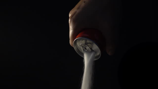 sugar from cans of soft drinks - sweet food stock videos & royalty-free footage