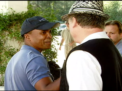 Sugar Ray Leonard and Chris McDonald at the 9th Annual Elizabeth Glaser Pediatric AIDS Foundation Celebrity Golf Classic at Lakeside Golf Club in...