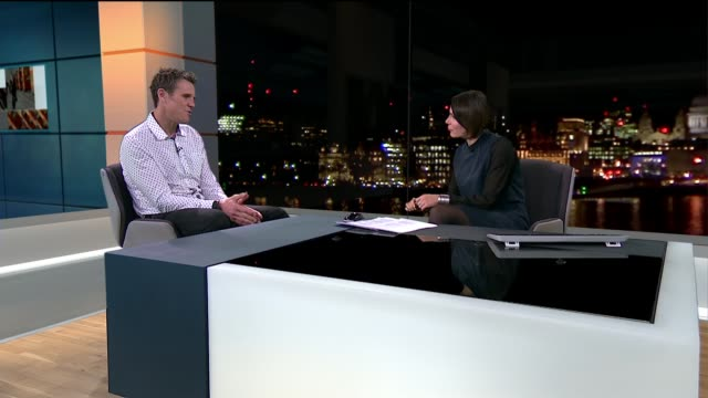 james cracknell authors report on sugary drinks tax proposals and calls for end to schools 'fat shaming'; england: london: int james cracknell live... - sugar stock videos & royalty-free footage