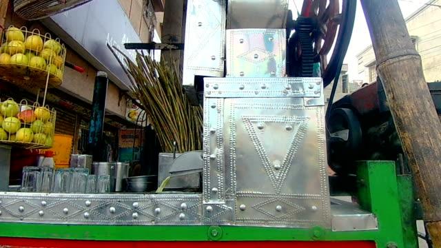 sugarcane juice extractor - karachi stock videos & royalty-free footage