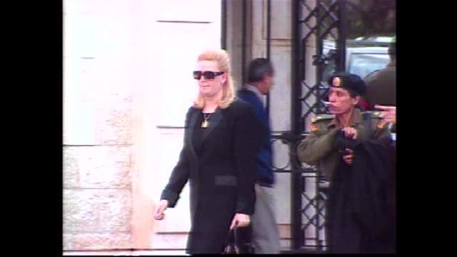 Suha Arafat the widow of late Palestinian leader Yasser Arafat on Monday rejected charges of corruption levelled against her in Tunisia Tunis Tunisia