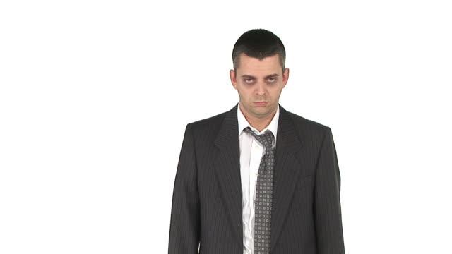 vidéos et rushes de hd : suicidaire homme d'affaires - 25 29 ans