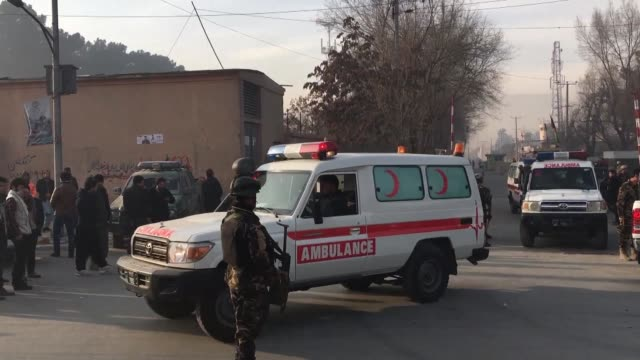 a suicide attacker on foot blew himself up near a compound belonging to the afghan intelligence agency in kabul killing six civilians officials say - compounding stock videos and b-roll footage