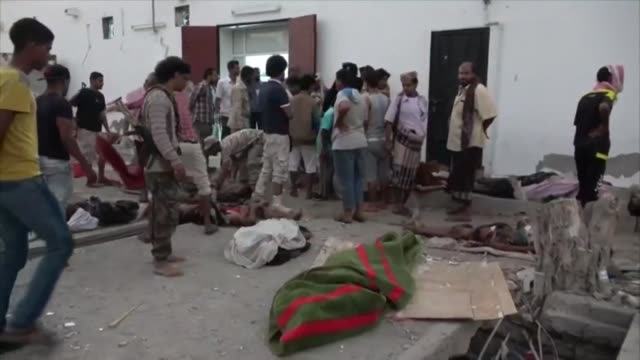 suicide bomber killed 35 soldiers and wounded around 50 on saturday at a military camp in yemen's southern city of aden military and medical sources... - aden stock videos & royalty-free footage
