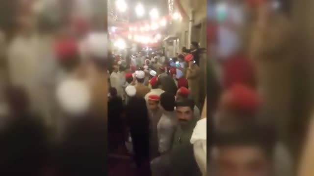 suicide bomber storms an awami national party election rally in peshawar, pakistan on july 10, 2018. death toll from tuesday's suicide bombing... - peshawar stock videos & royalty-free footage