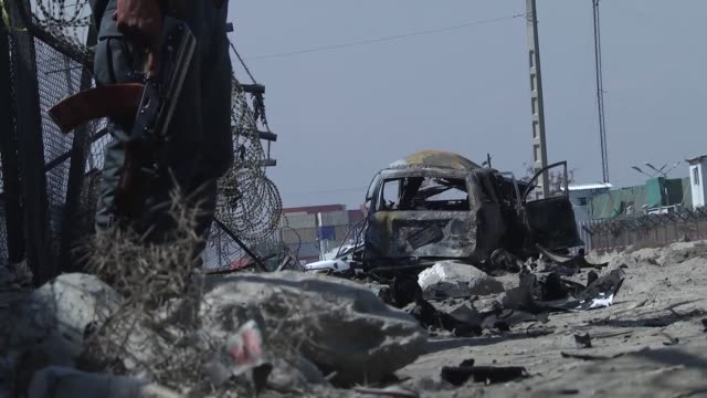 suicide car bombing in the afghan capital kabul on saturday killed at least four people, an official confirmed. nusrat rahimi, deputy spokesman for... - kabul stock videos & royalty-free footage