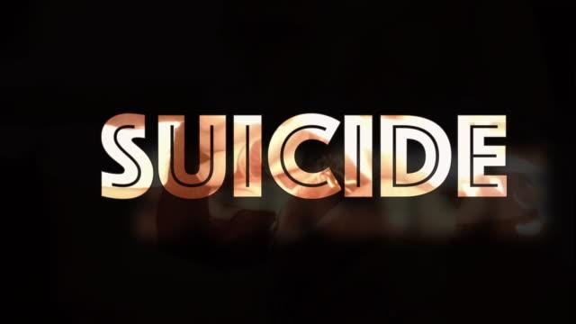 suicide computer graphic - suicide stock videos & royalty-free footage