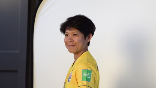 Sukanya ChorCharoenying at FIFA Women's World Cup France 2019 Team Portrait Session on June 08 2019 in Reims