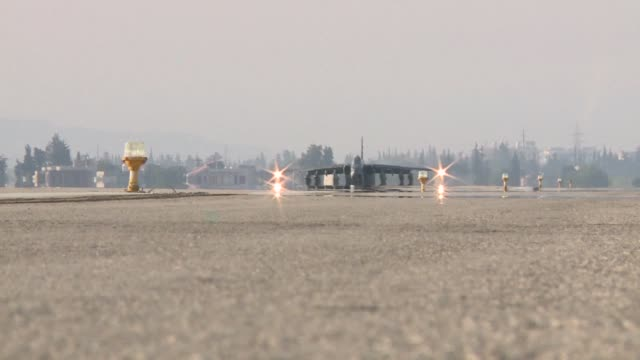 A Sukhoi military jet crashed while preparing for take off from Russia's Hmeimim base in Syria on Tuesday killing the crew Russian news agencies...