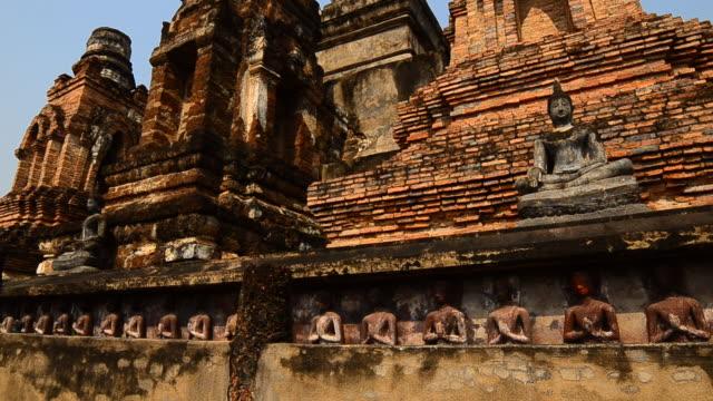 sukhothai - brick stock videos & royalty-free footage