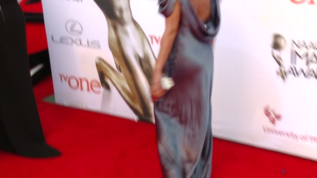 stockvideo's en b-roll-footage met suki avery at the 46th annual naacp image awards arrivals at pasadena civic auditorium on february 06 2015 in pasadena california - pasadena civic auditorium