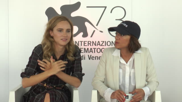 INTERVIEW Suki Waterhouse Ana Lily Amirpour on acting as an amputee at 'The Bad Batch' Interviews 73rd Venice Film Festival