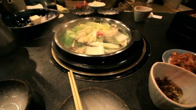 sukiyaki - sukiyaki stock videos and b-roll footage