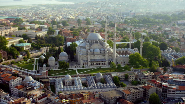 suleymaniye mosque in istanbul turkey - suleymaniye mosque stock videos and b-roll footage