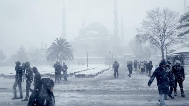 vídeos de stock e filmes b-roll de mesquita suleymaniye - profile