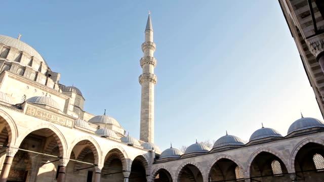 スレイマニエモスク - イスタンブール 金角湾点の映像素材/bロール
