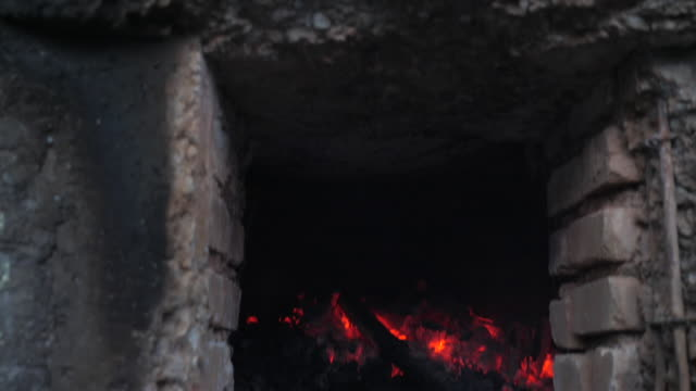 sulfur workers in ijen, indonesia. - sulphur stock videos & royalty-free footage