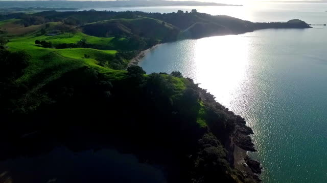 sullivans bay - new zealand stock videos & royalty-free footage