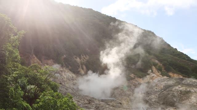 sulphur spring - schwefelquellen stock-videos und b-roll-filmmaterial