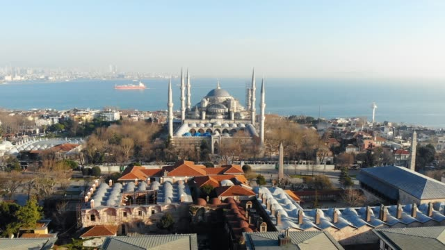 sultan ahmet mosque, istanbul - turkey - blue mosque stock videos & royalty-free footage