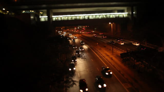 WS Sumare Avenue at night / Sao Paulo, Brazil