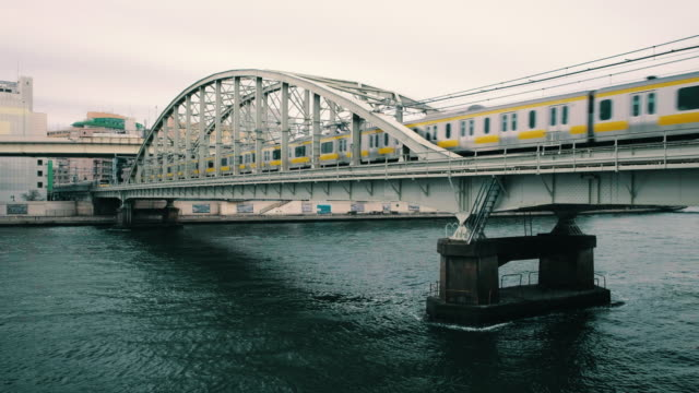 sumida river tokyo japan - public transport stock videos & royalty-free footage