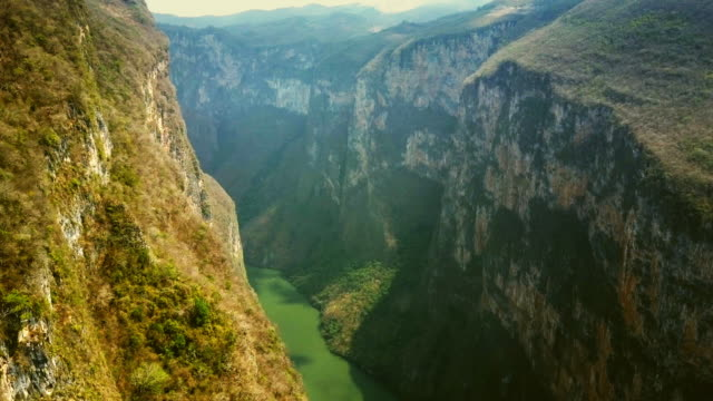 sumidero canyon in chiapas mexico - mexico stock videos & royalty-free footage