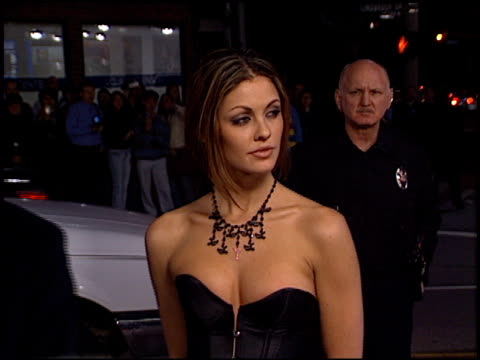 summer altice at the 'hart's war' premiere at mann in westwood california on february 15 2002 - summer altice stock videos & royalty-free footage
