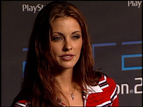 summer altice at the playstation 2 one year anniversary party at the st regis hotel in century city california on october 18 2001 - summer altice stock videos & royalty-free footage