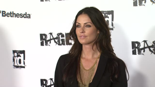 summer altice at the 'rage' video game launch party at los angeles ca - summer altice stock videos & royalty-free footage
