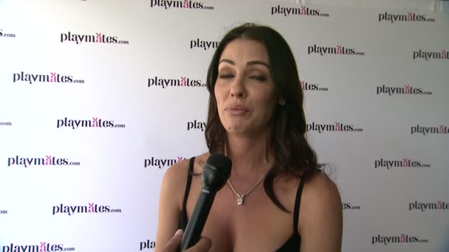 interview summer altice on advice for kennedy summers working with kennedy her ideal date at the playboy's 2014 playmate of the year announcement... - playboy magazine stock videos and b-roll footage