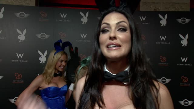interview summer altice on the party and why she's there at the playboy party at the w scottsdale on january 30 2015 in scottsdale arizona - summer altice stock videos & royalty-free footage