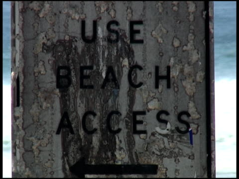 summer beach access - western script stock videos & royalty-free footage