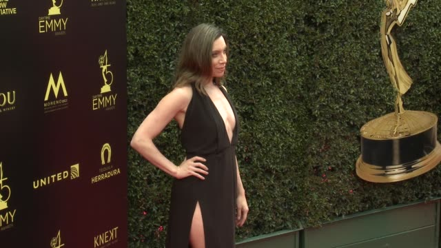 Summer Chastant at the 2018 Daytime Emmy Awards at Pasadena Civic Auditorium on April 29 2018 in Pasadena California