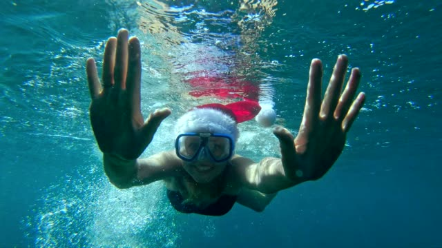 vídeos y material grabado en eventos de stock de verano navidad - verano
