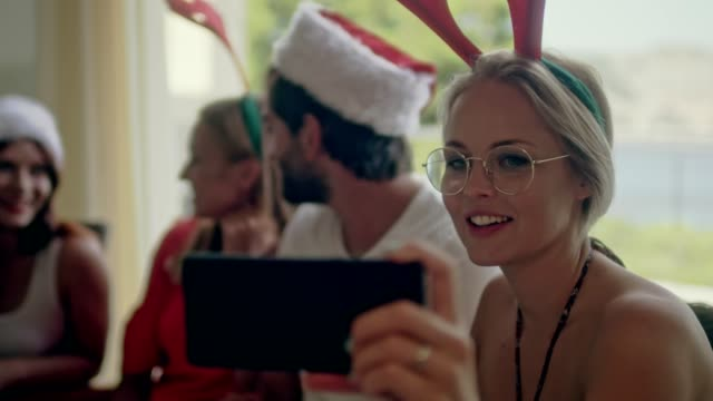 summer christmas greetings - funny merry christmas greetings stock videos and b-roll footage