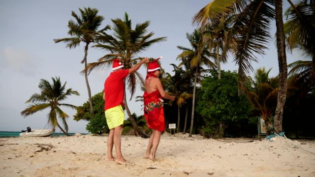 vidéos et rushes de summer christmas - touriste